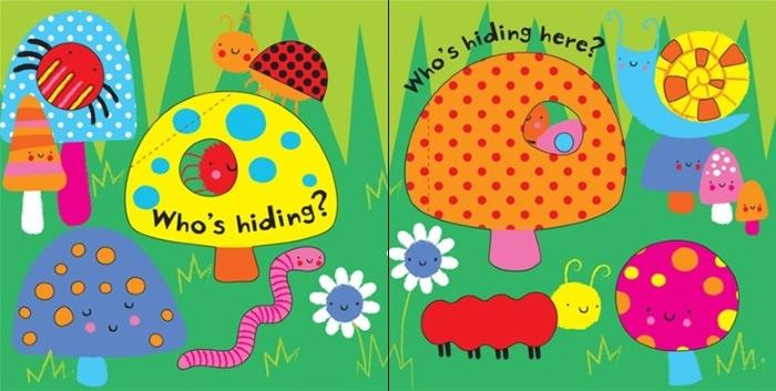 Chi si nasconde? Libro tattile