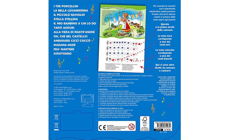 Il libro pianoforte per bambini
