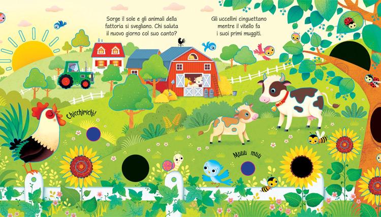 Nella fattoria, libro tattile