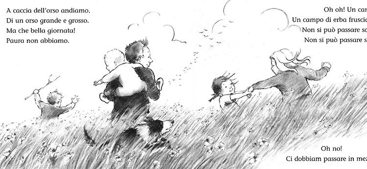 A caccia dell'orso libro