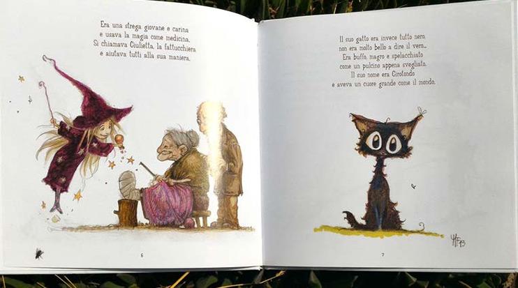 Il gatto stregato libro