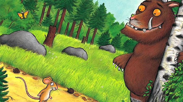 Il Gruffalò libro