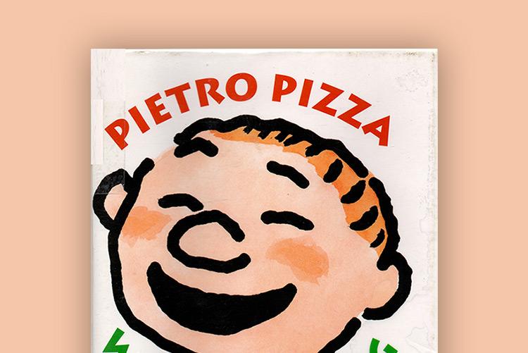 Pietro Pizza, libro per bambini