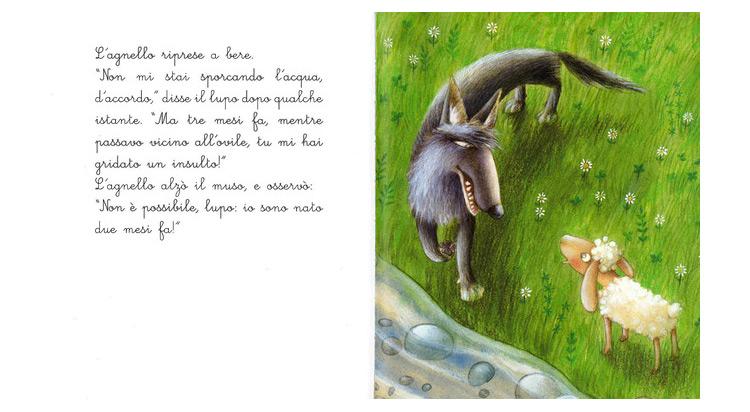 Le più belle fiabe illustrate di Esopo, libro
