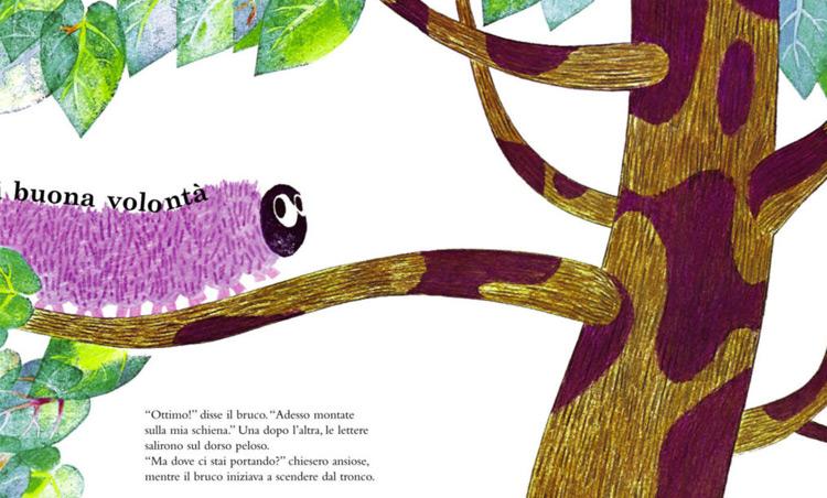 libro L'albero alfabeto