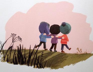 Bambini amicizia