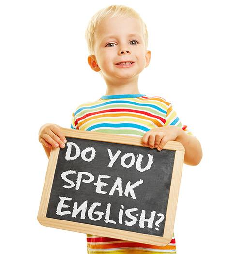 bambino inglese