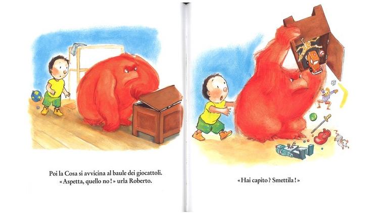 libro per bambini che rabbia!