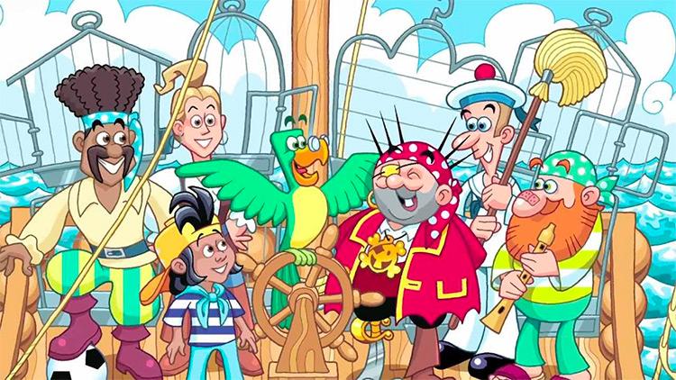 lista libri sui pirati per bambini