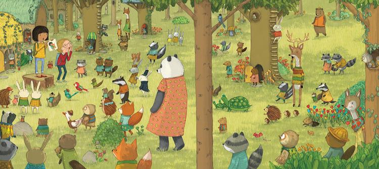 Stephanie Garegin illustratrice per bambini