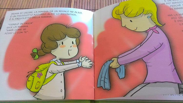 Alice e il primo giorno di asilo libro