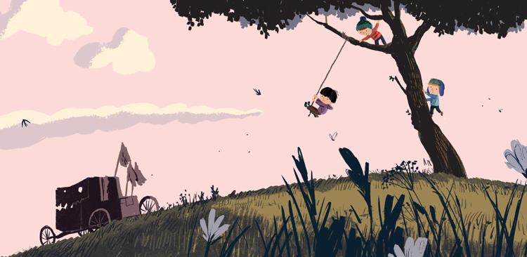Benji Davies illustratore