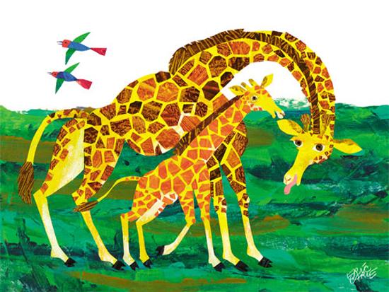 Eric Carle illustratore per bambini