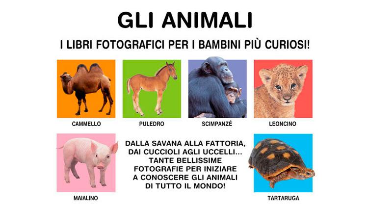 Gli animali, edito da Giunti Kids libro