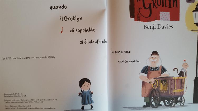 Il Grotlyn libro per bambini