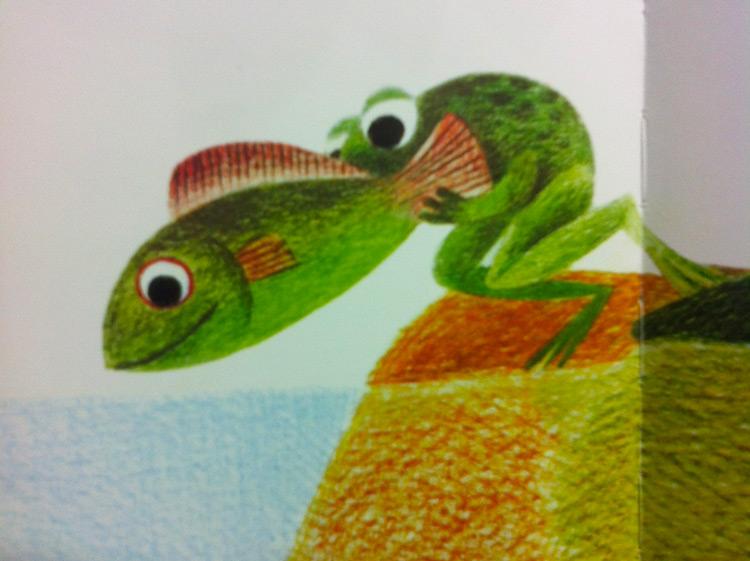 """libro per bambini """"Un pesce è un pesce"""""""