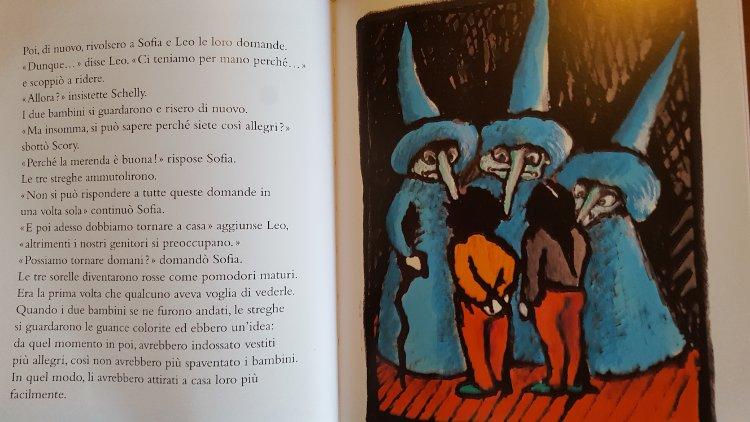 3 streghe libro illustrato