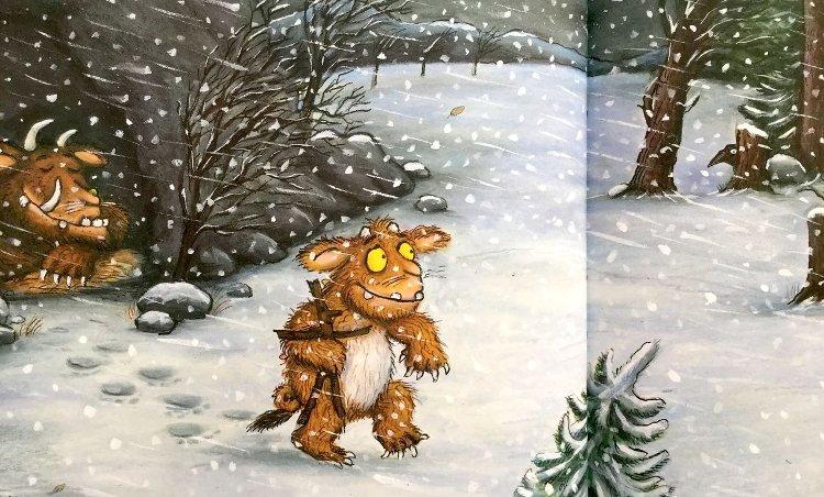 Il Gruffalò e la sua piccolina libro