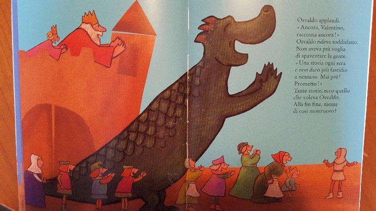 libro per bambini con mostro