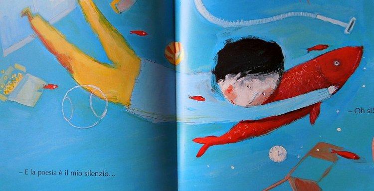poesia pesci libro bambini infanzia