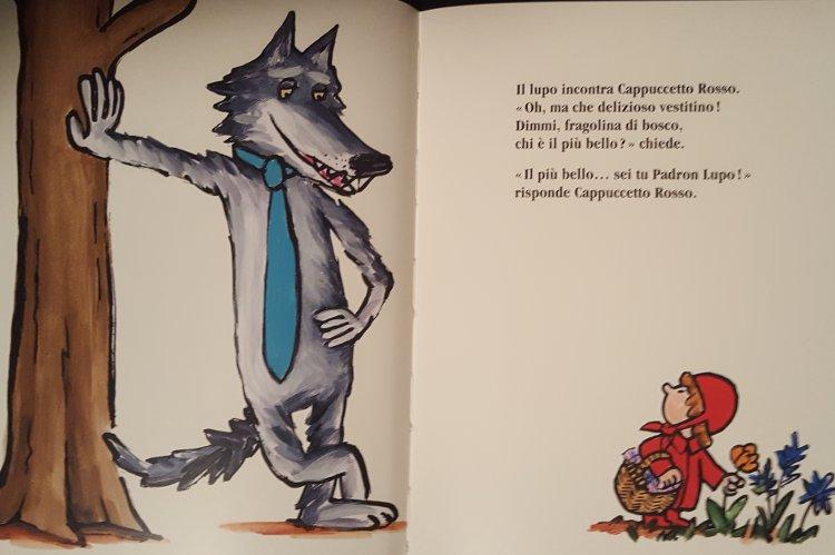 Sono io il più bello! libro lupo