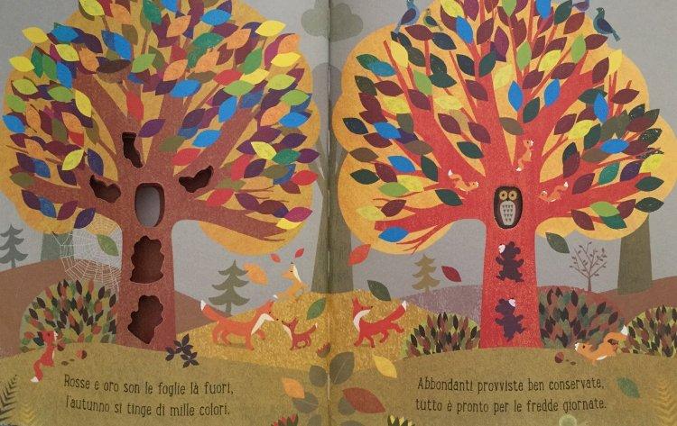 albero libro bambini