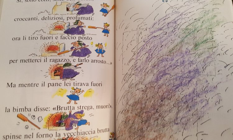 fiabe per occhi e bocca libro infanzia