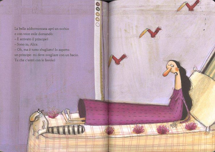 Alice nelle figure di Gianni Rodari e Anna Laura Cantone