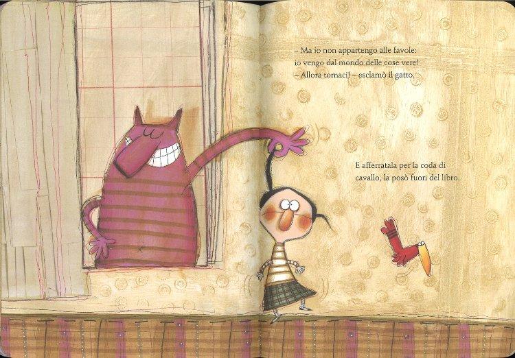 Alice nelle figure libro rodari bambini