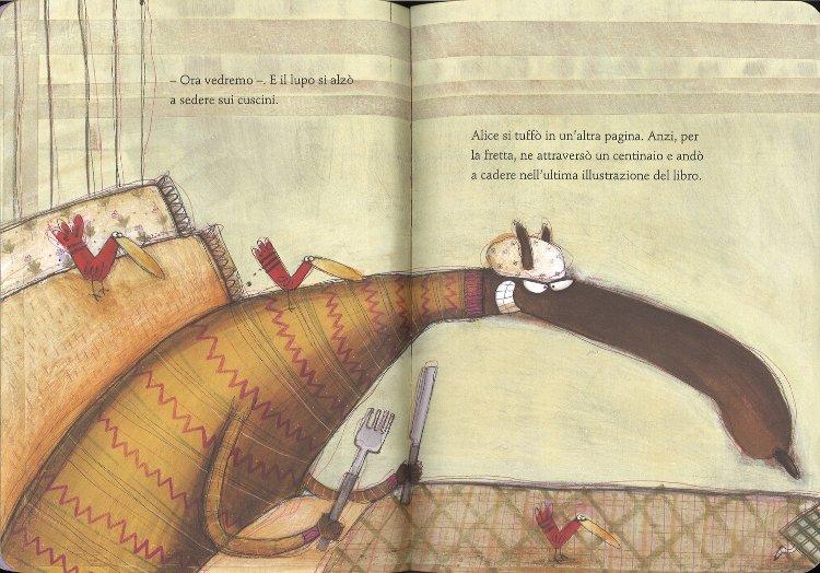 Alice nelle figure libro