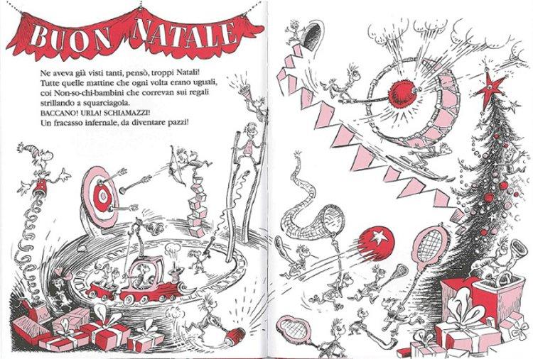 Il Grinch libro bambini