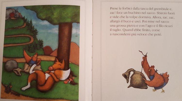 LA gallinella rossa libro bambini