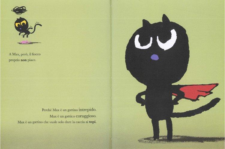 Max il coraggioso libro bambini
