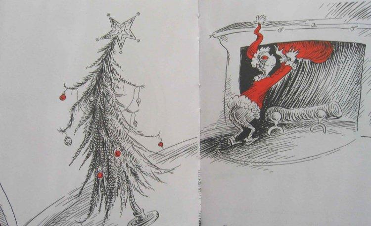 il Grinch libro di Natale