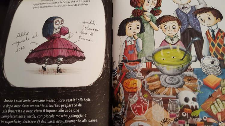 mortina e l'amico fantasma libro