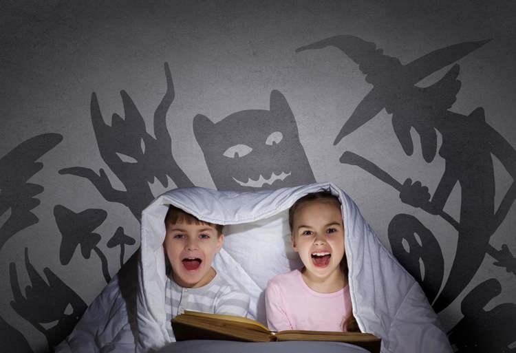 Letture per bambini dai 4 ai 5 anni horror
