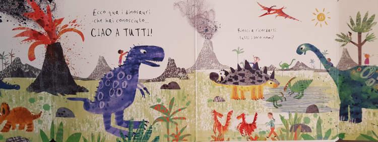 libri dinosauri bambini