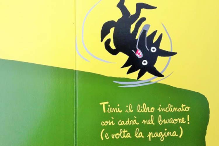 aiuto lupo bambini libro