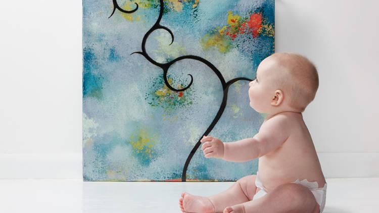 arte spiegata ai bambini