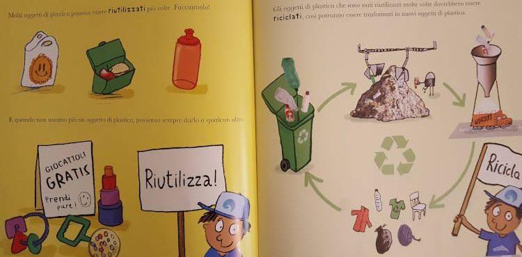 libro scienza plastica
