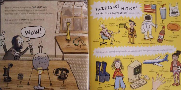 plastica libro bambini