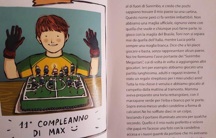 sfida libro sul calcio